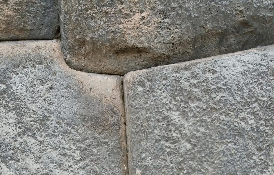 Steine in Cusco