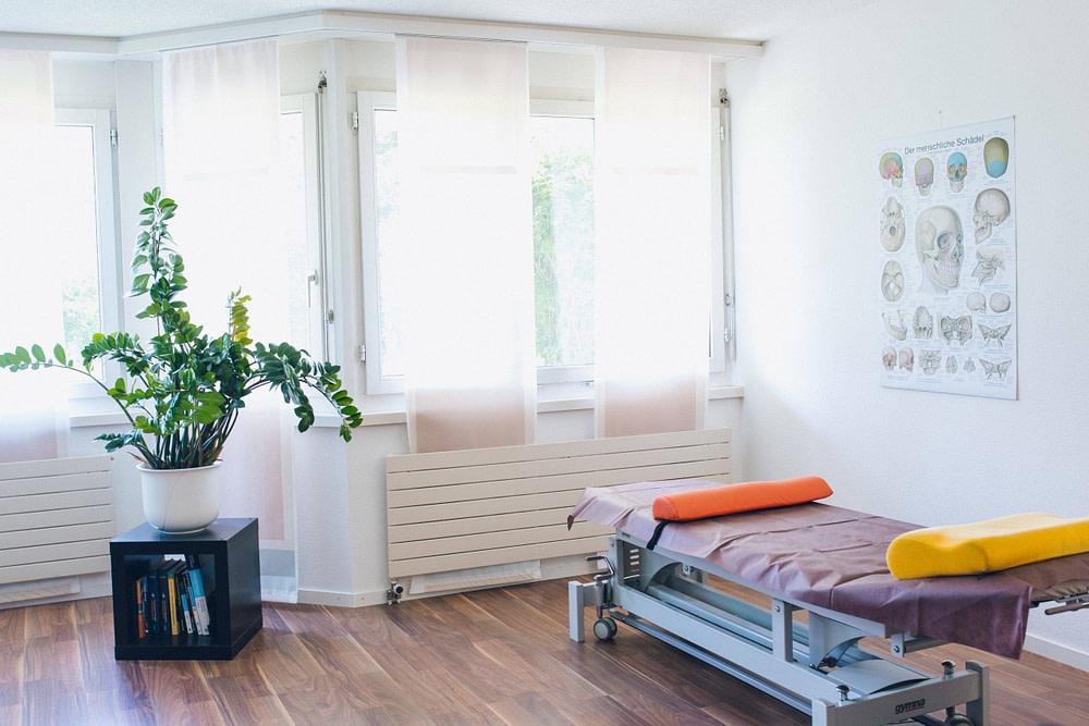 Behandlungsraum - Physiotherapie Zürich und Wollishofen - Therapiezenter Alex